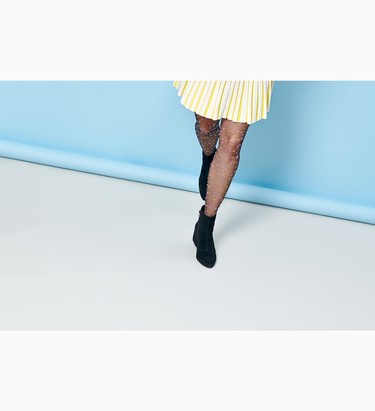 Sheer tights for women: Robin | Hysteria by Happy Socks