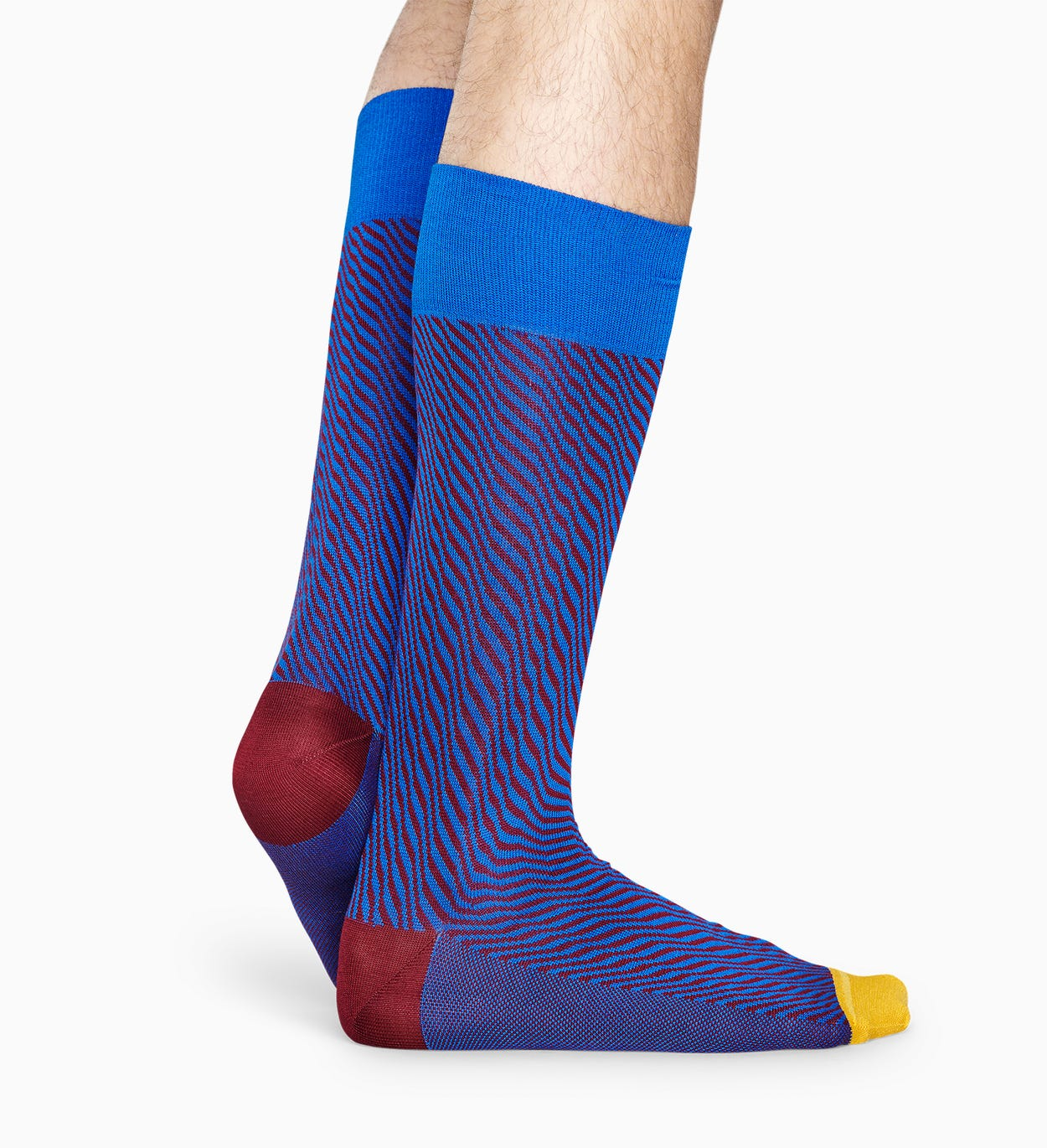 Blaue Anzugsocken: Volume - Dressed | Happy Socks