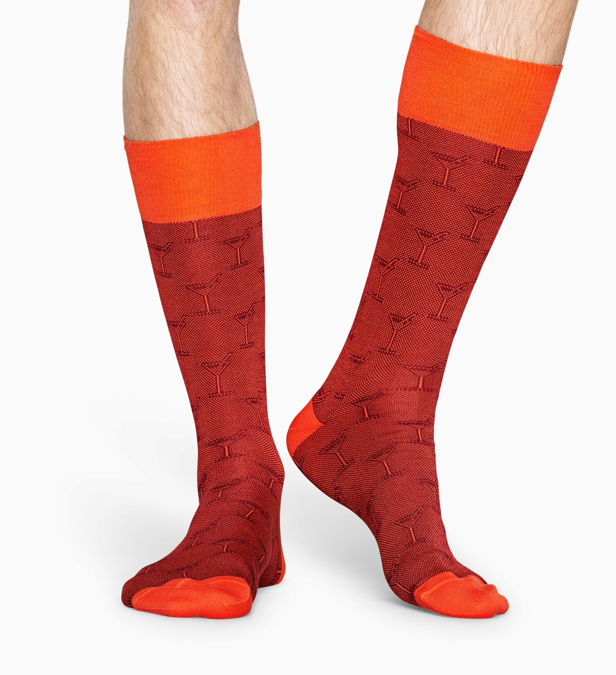 Orange suit socks: Cocktail - Dressed | Happy Socks