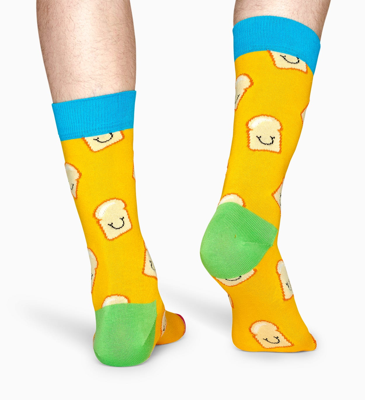 Treat your feet to a tasty slice of Toast socks! These smiley slices come in delicious buttery yellow for a mellow style that's sure to get a few laughs…