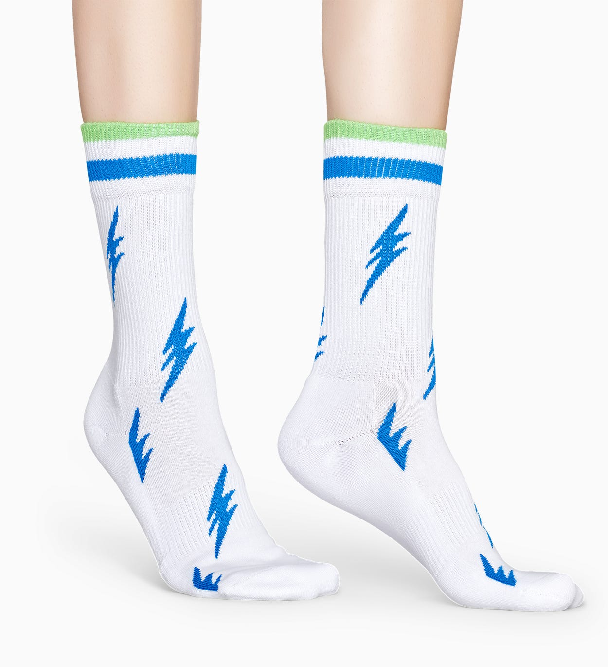 Witte sportsokken: Flash - ATHLETIC | Happy Socks