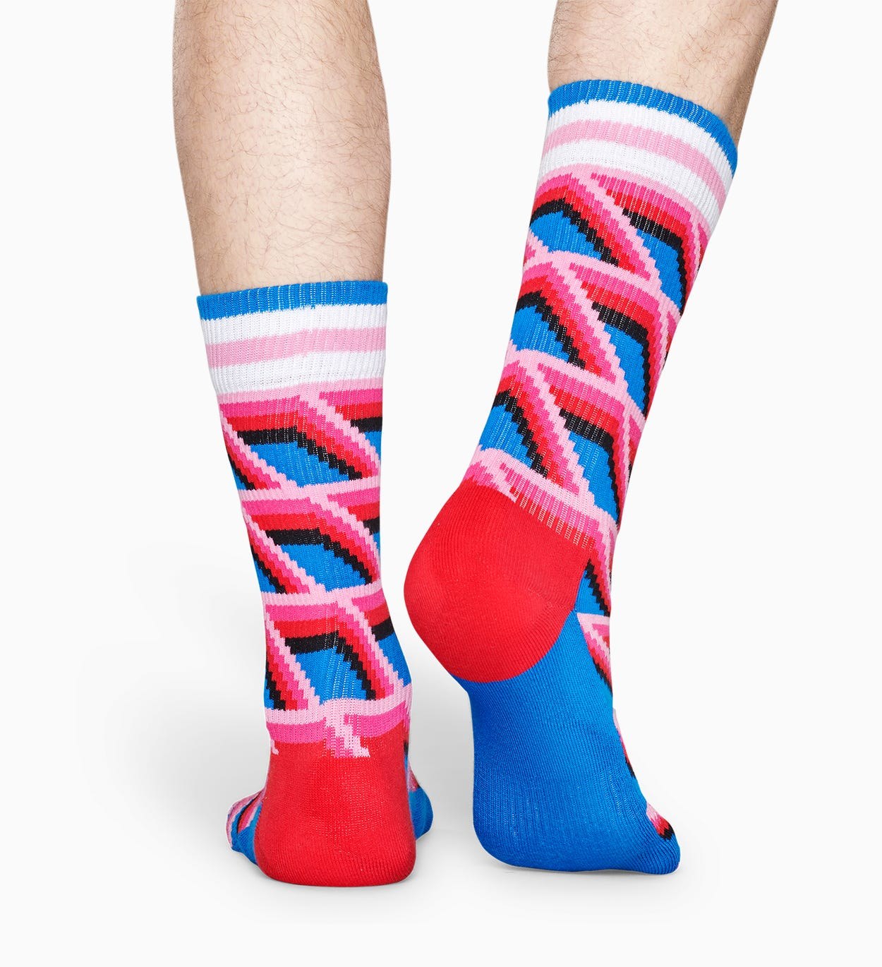 Blå sportsokker: Sunk - ATHLETIC | Happy Socks
