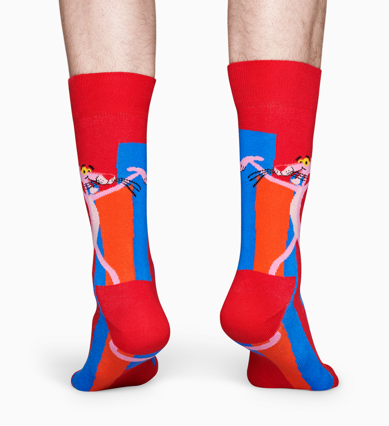 Happy Socks x Pink Panther: Smile Pretty, Say Pink strømper