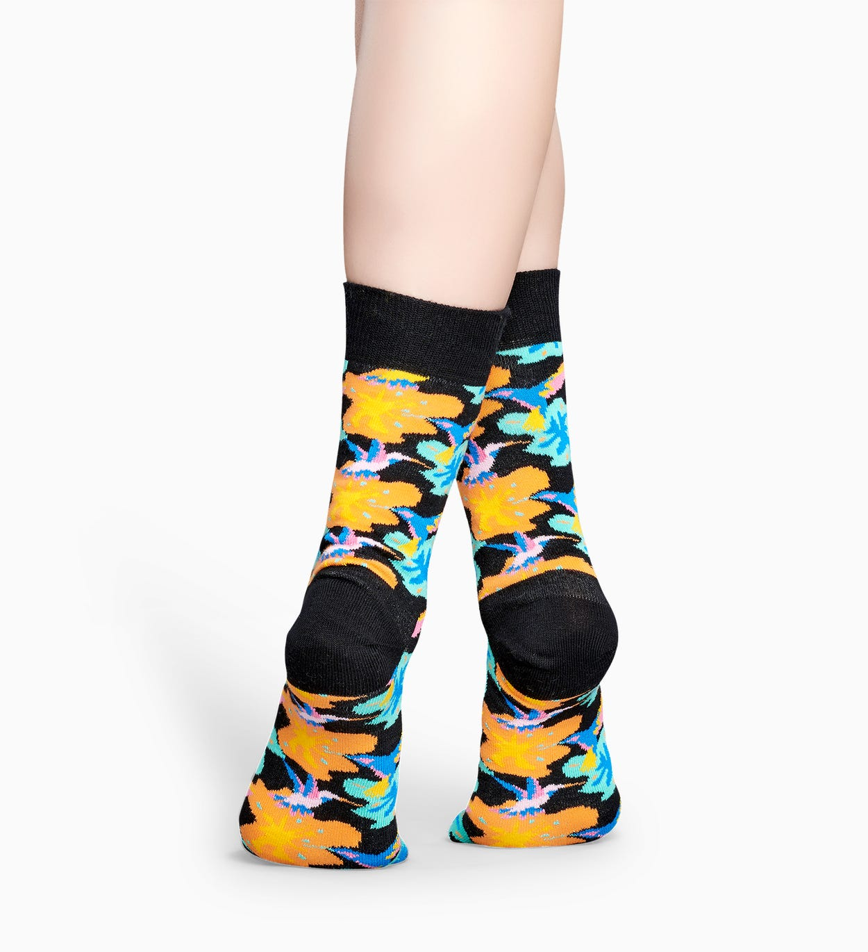 Schwarze Socken: Hummingbird | Happy Socks