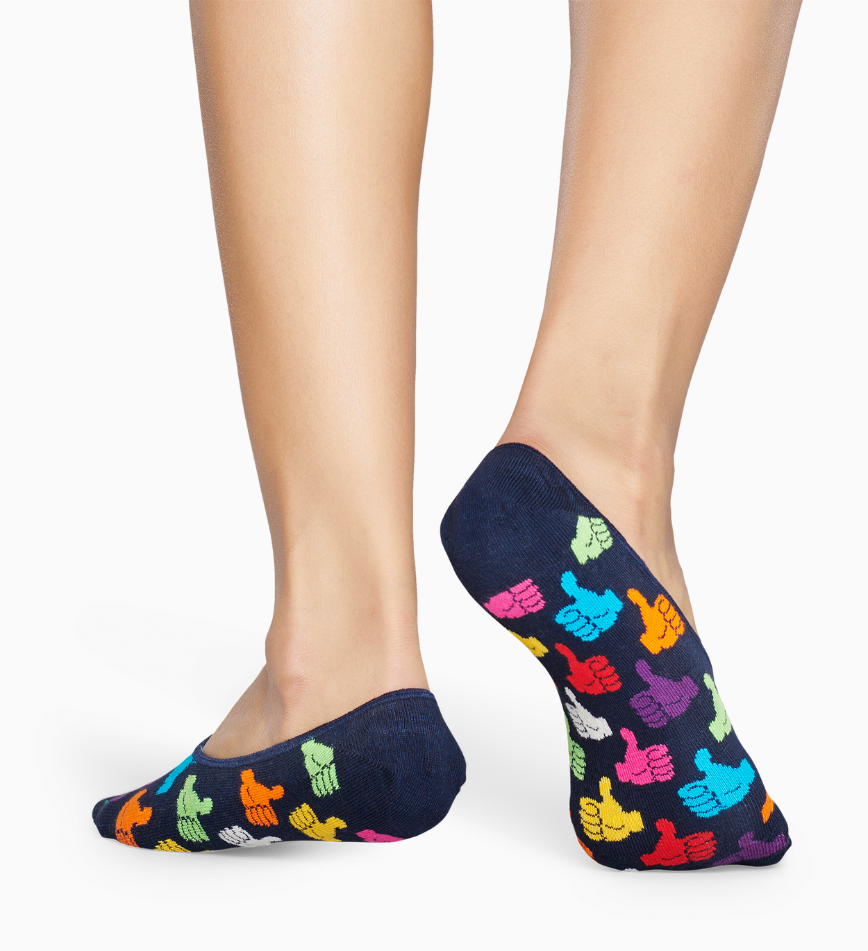 Calcetines invisibles Azul: Thumbs Up | Happy Socks