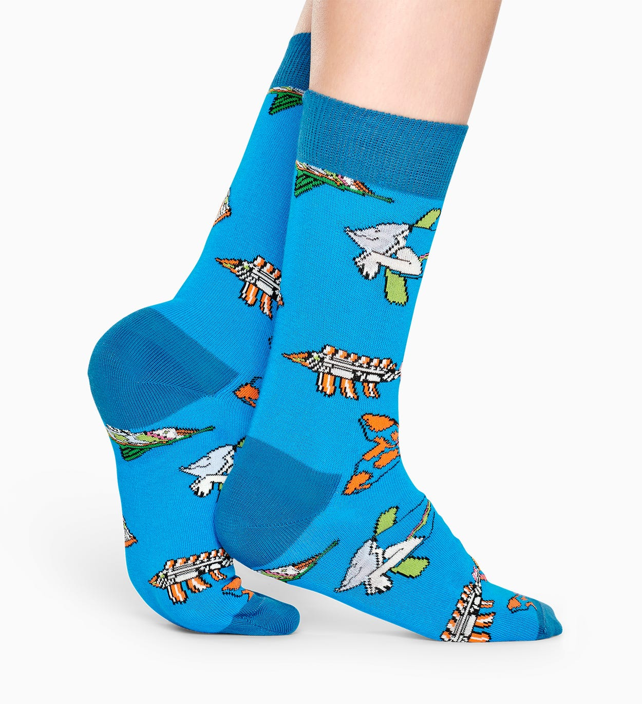 Exclusive The Beatles socks: Fish And Whales | Happy Socks