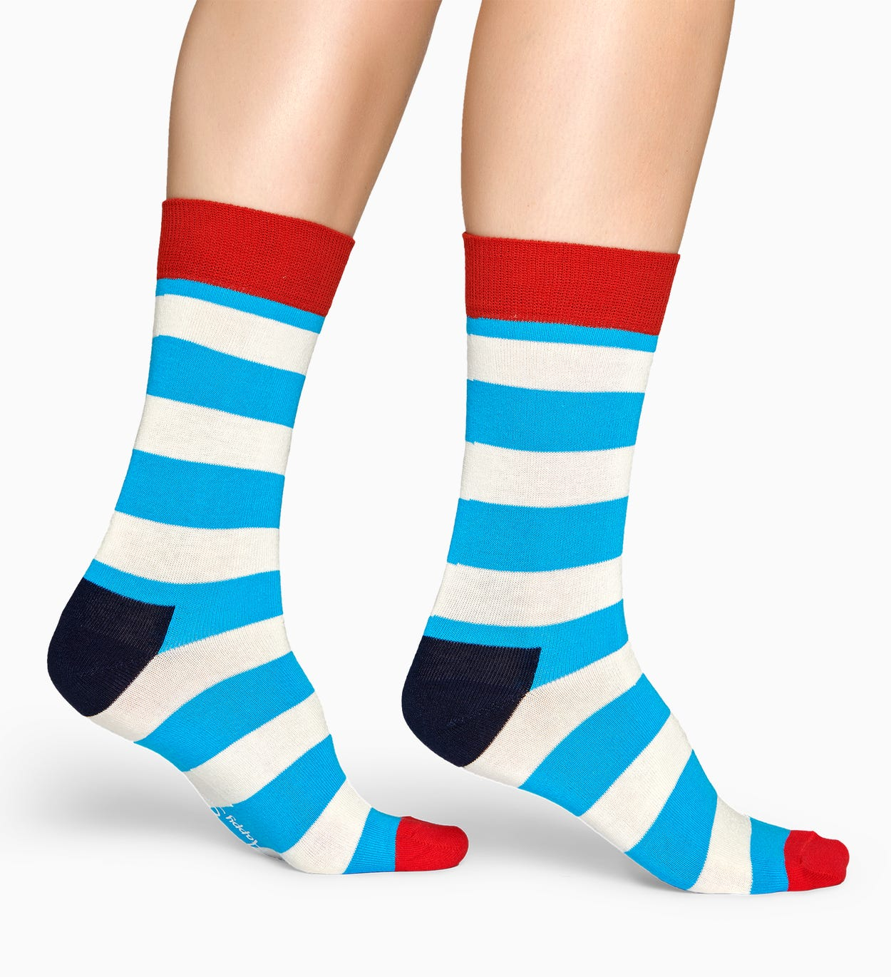 Stripe socks - Blue | Happy Socks