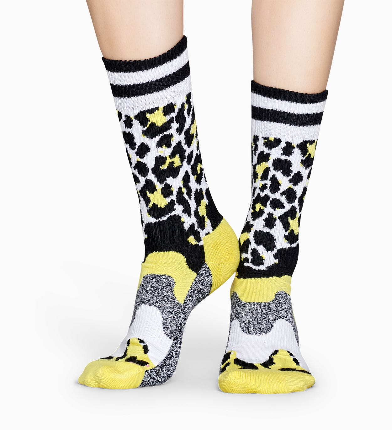 Grå Sportstrumpor: Animal - ATHLETIC | Happy Socks