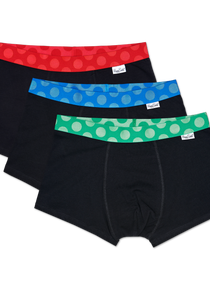 3-Pack Contrast Trunk