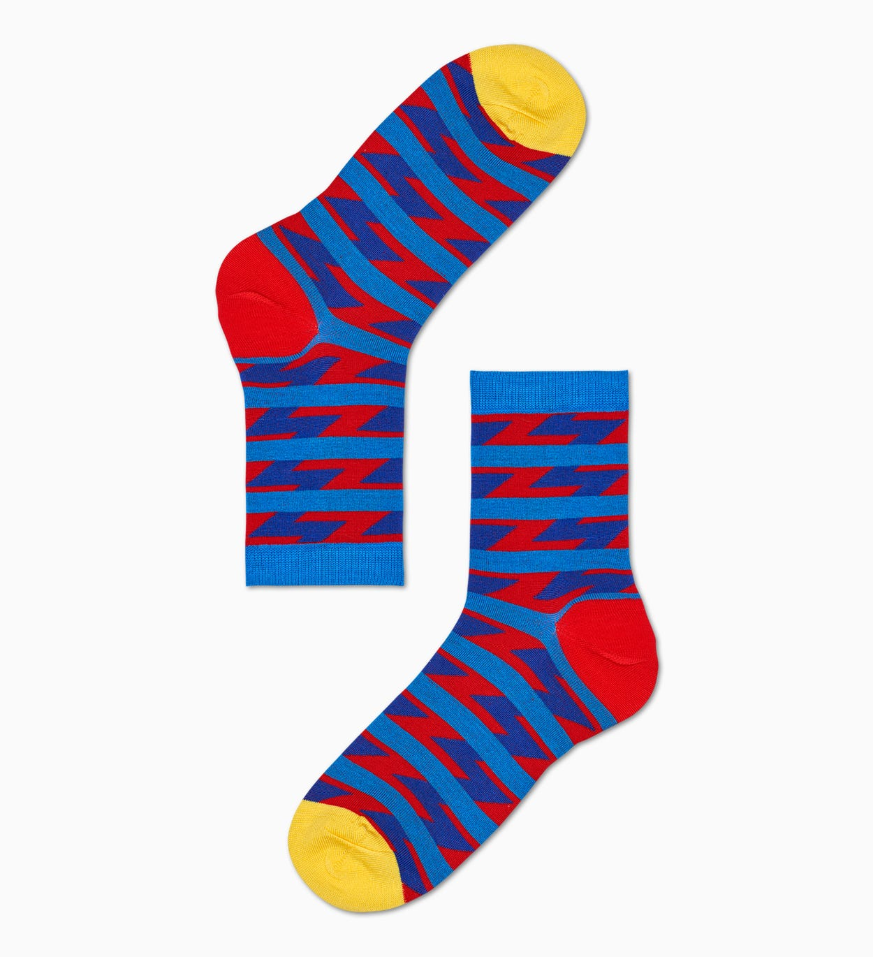 Women's Ankle Socks: Ray - Red & Blue | Hysteria