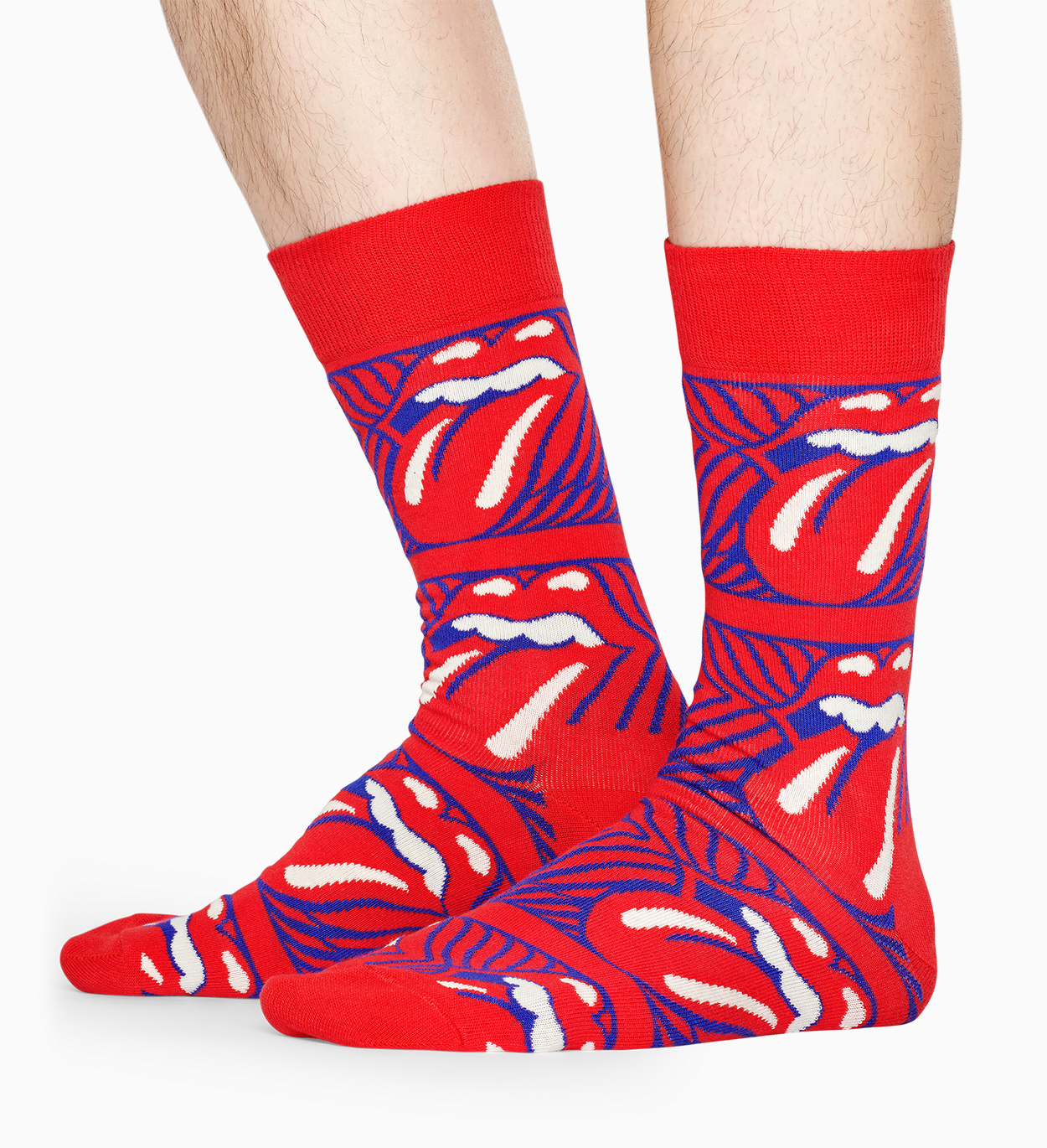 Happy Socks x Rolling Stones Chaussettes Stripe Me Up