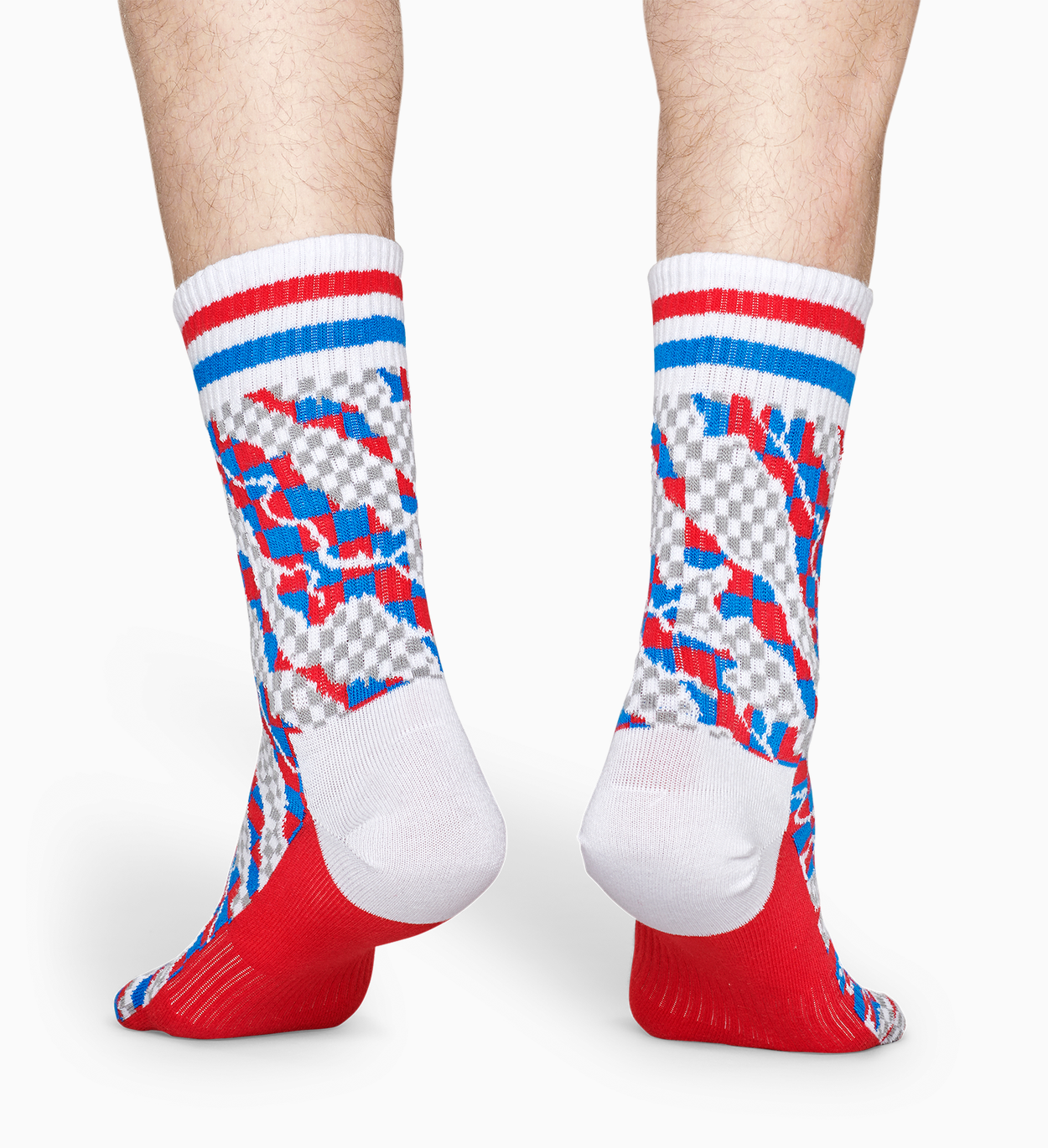 Rote Sportsocken: Workplace - ATHLETIC | Happy Socks