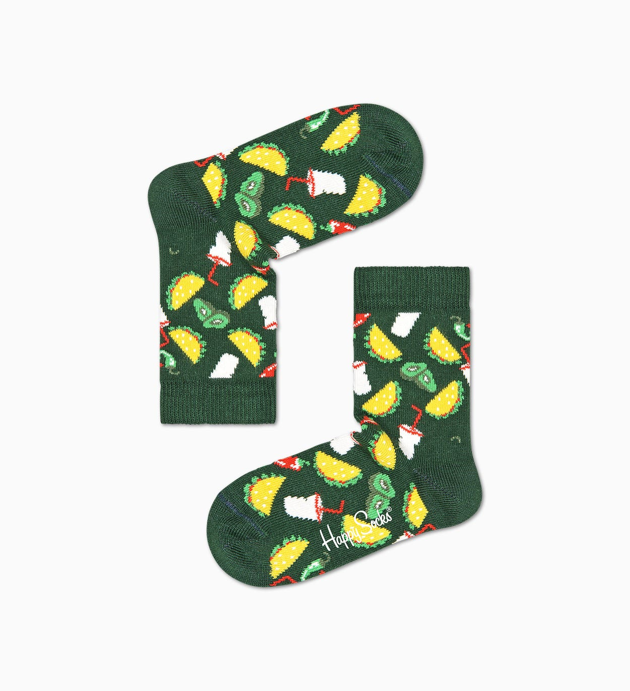 Organic Cotton Sock for Kids: Taco | Happy Socks