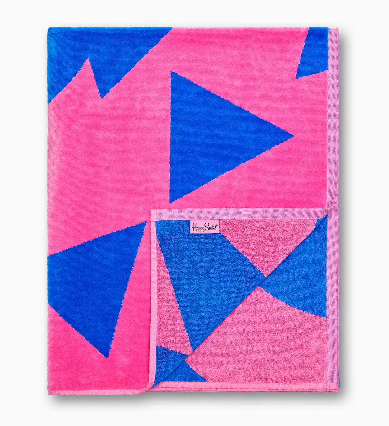 Pink, Blue Bath Towel: Stripe Dot | Happy Socks