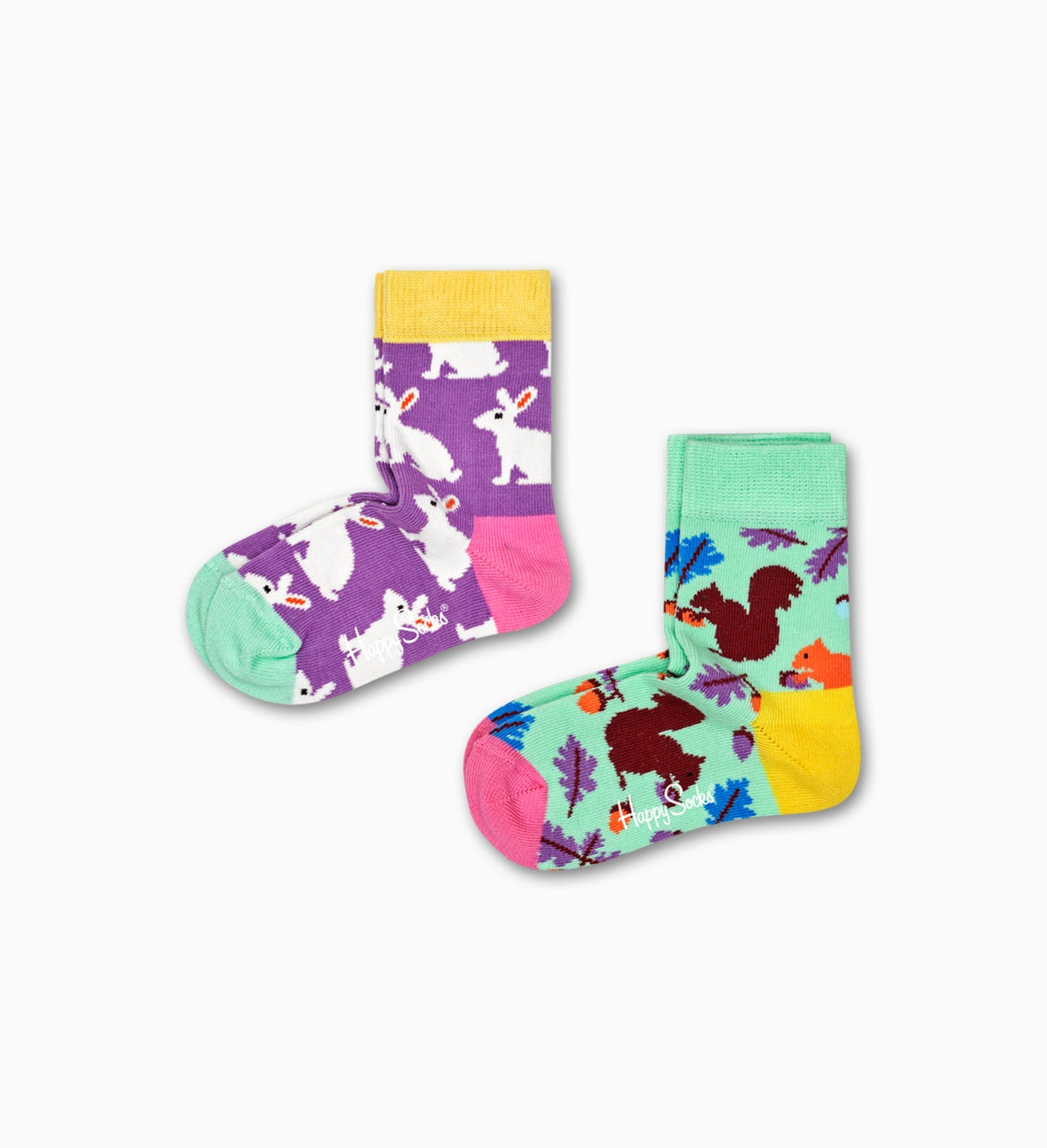 Kids & Baby Socks: Bunny, Purple | Happy Socks