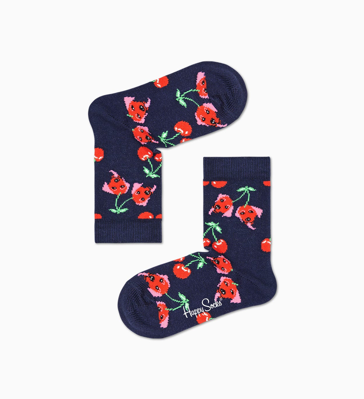 Kids Kids Cherry Dog Sock