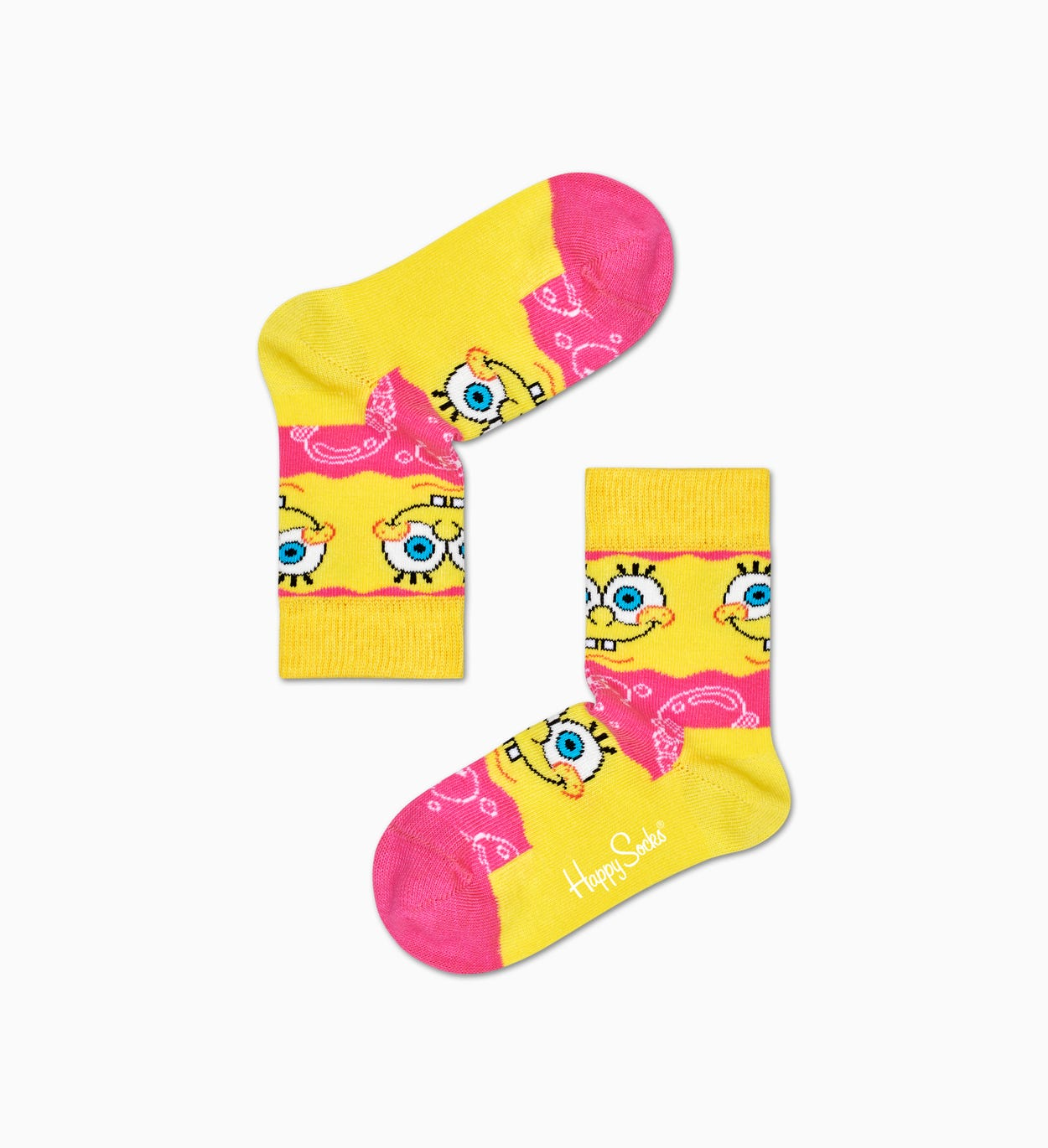 Kids SpongeBob Say Cheese Sock