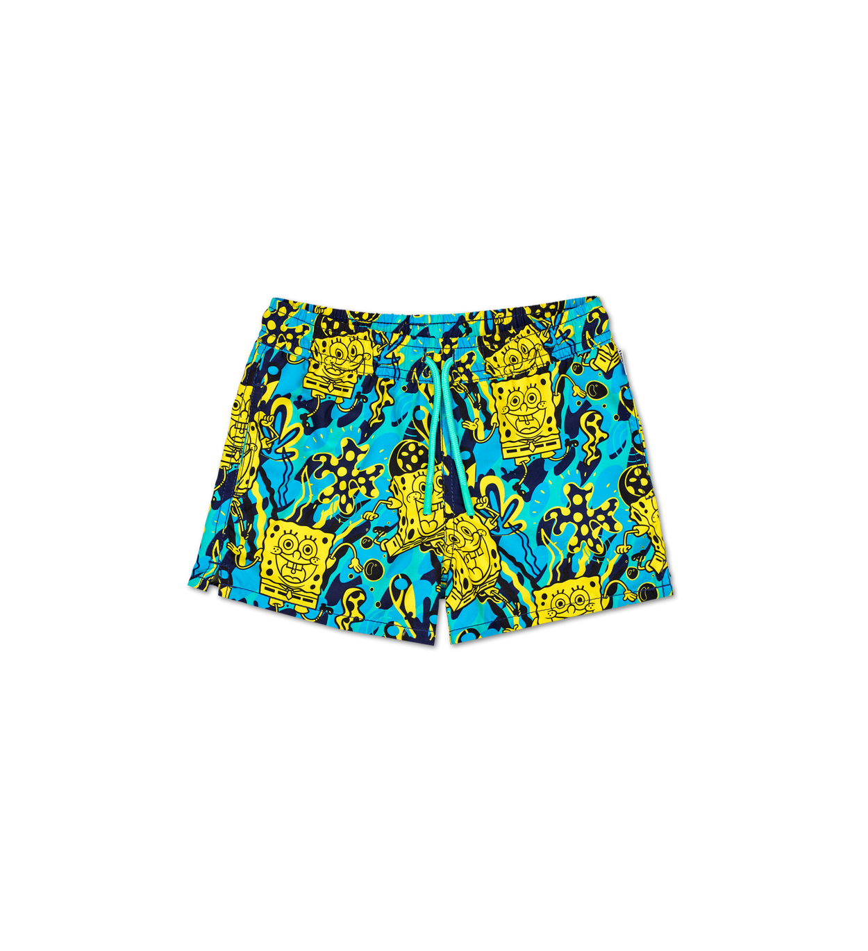 Kids SpongeBob Blue Swim Shorts