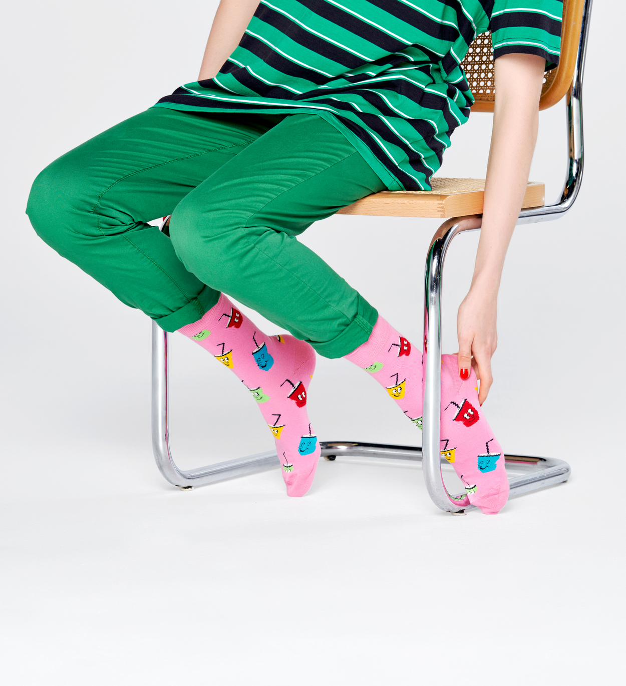 Soda Socken, Pink | Happy Socks
