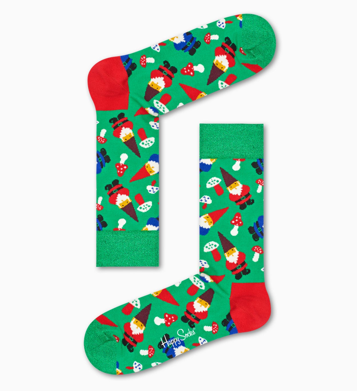 Green   Red socks gift box: Birthday | Happy Socks
