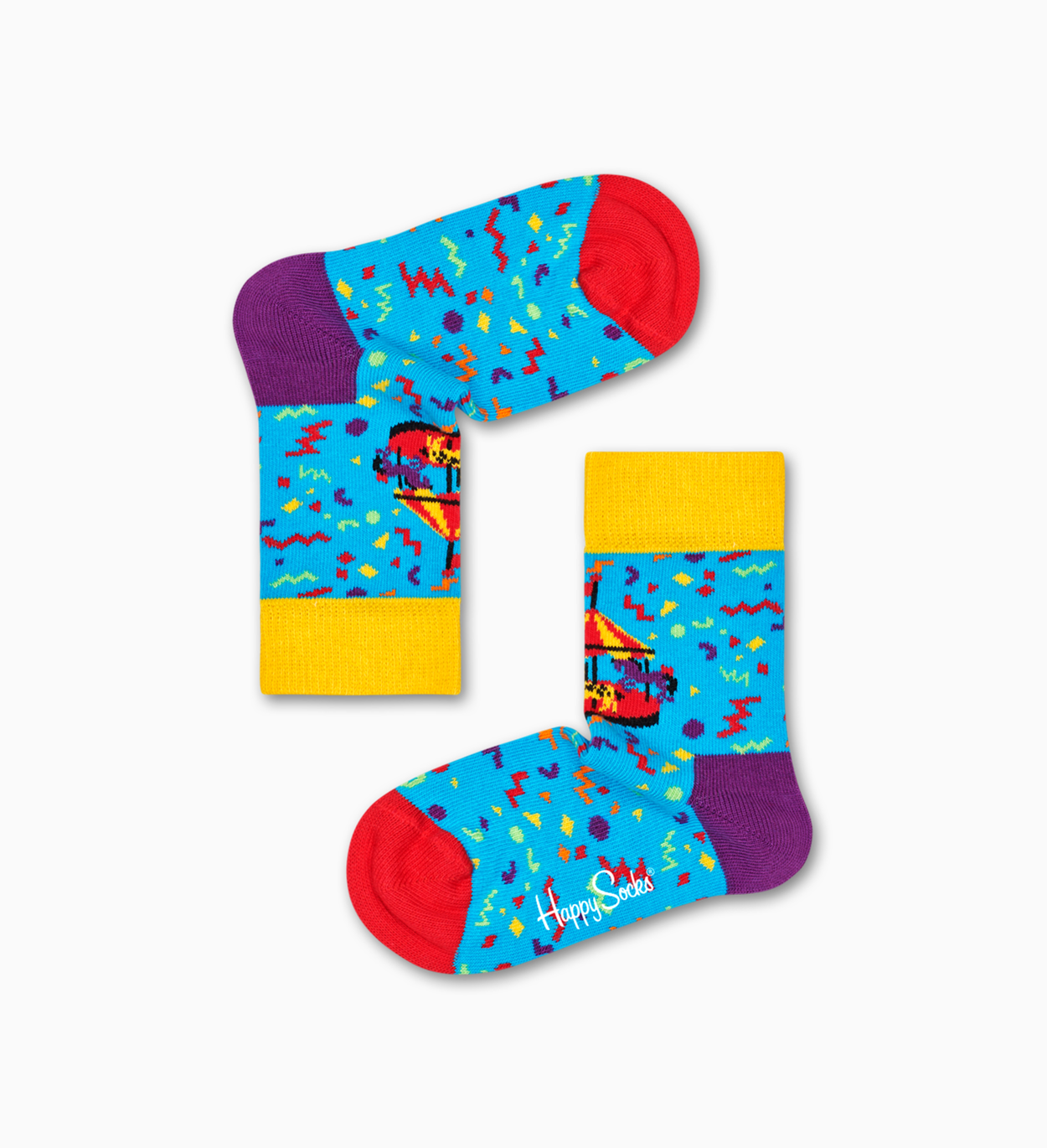 Kids Carousel Sock