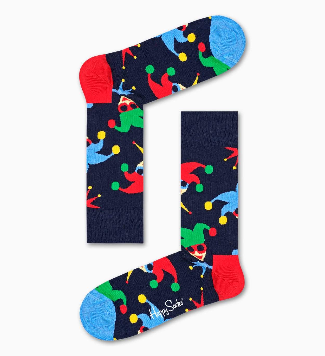 Carnival style: Masquerade Sock - dark blue | Happy Socks