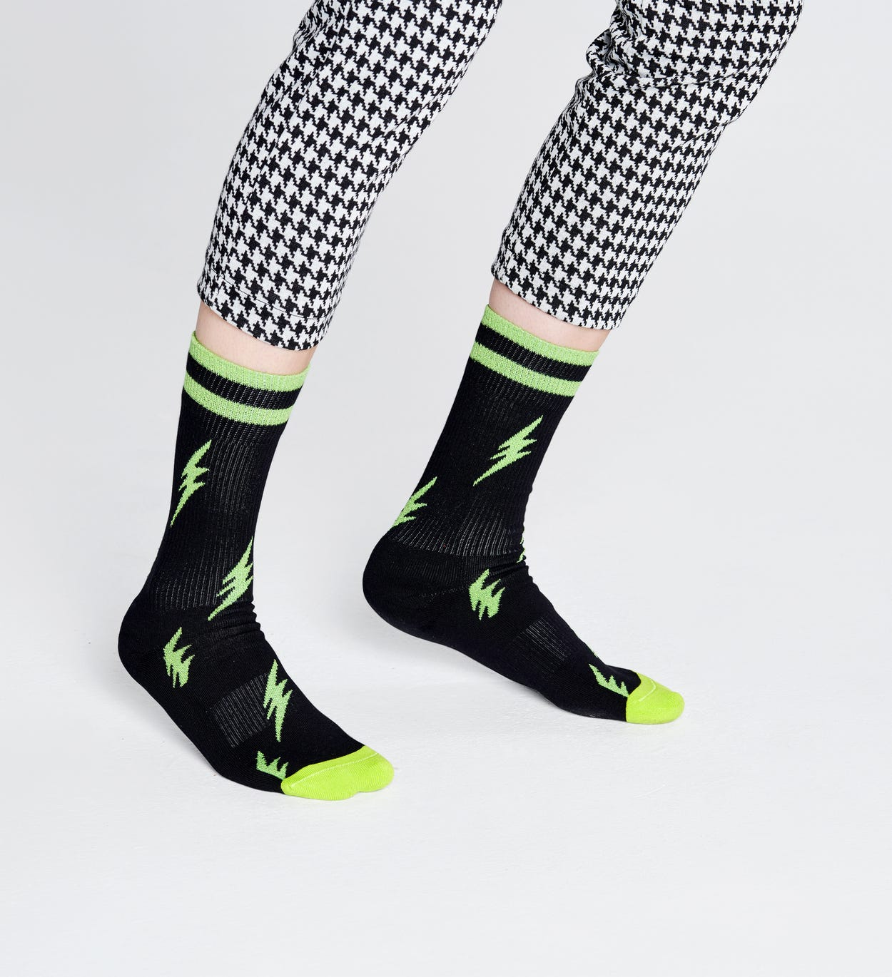 Flash Socks, Black - ATHLETIC | Happy Socks