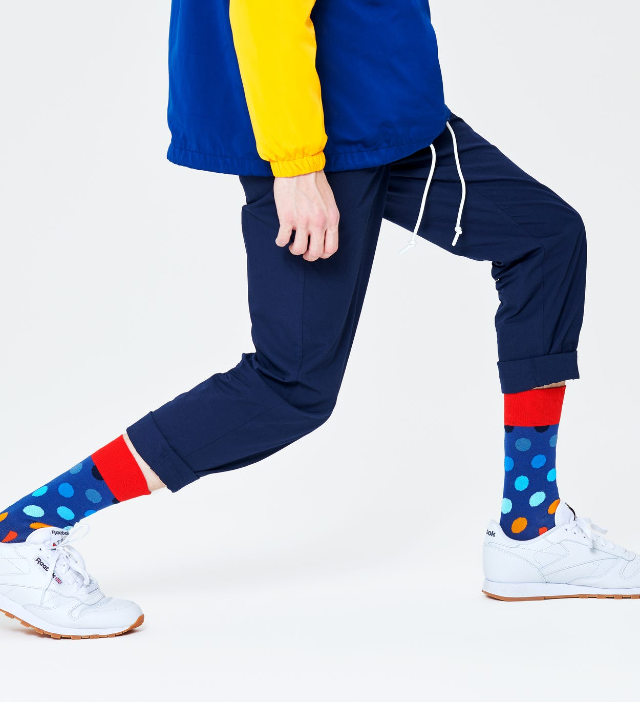 Blauwe Sokken: Big Dot | Happy Socks