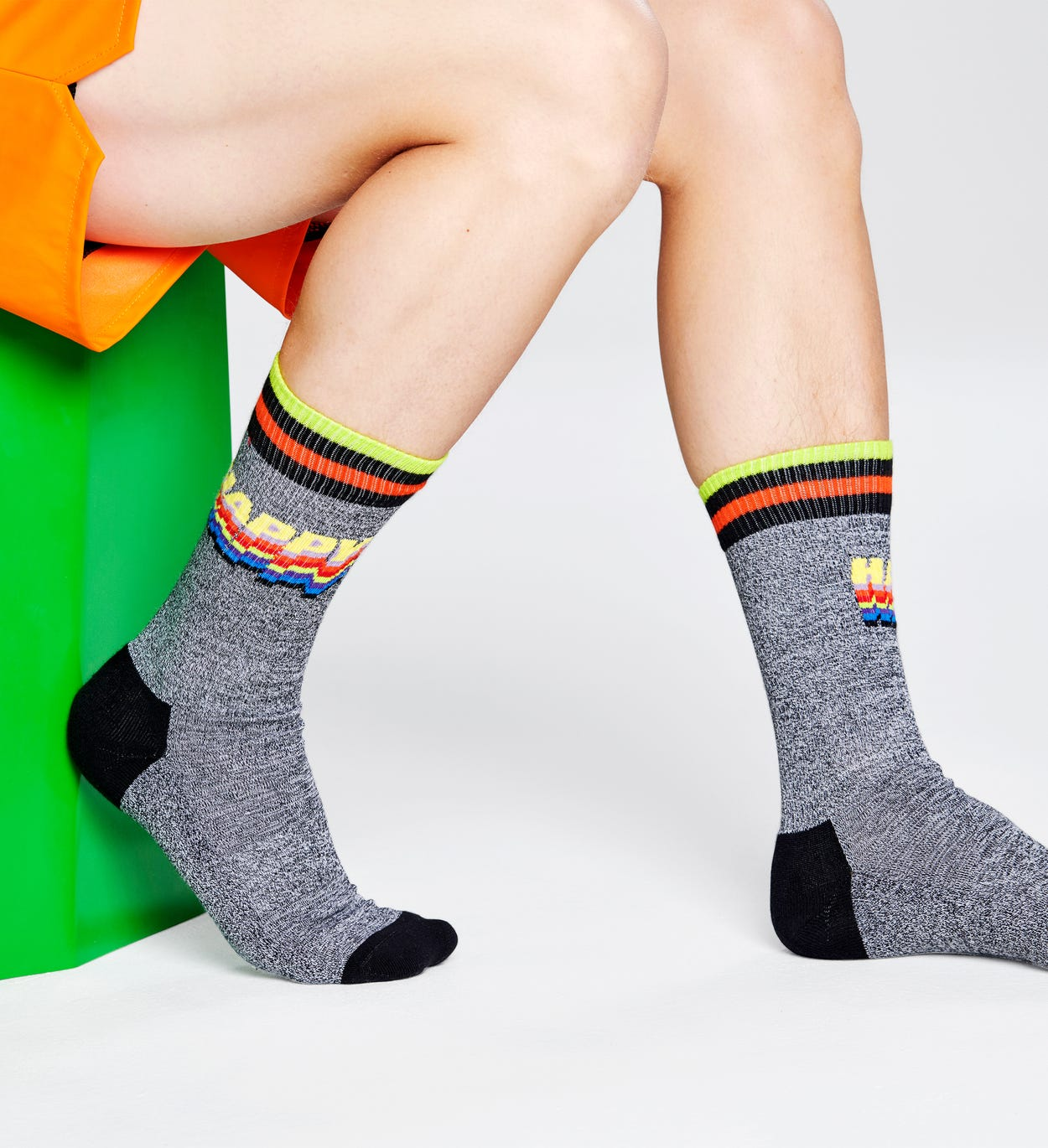 Happy Socken, Grau - ATHLETIC | Happy Socks
