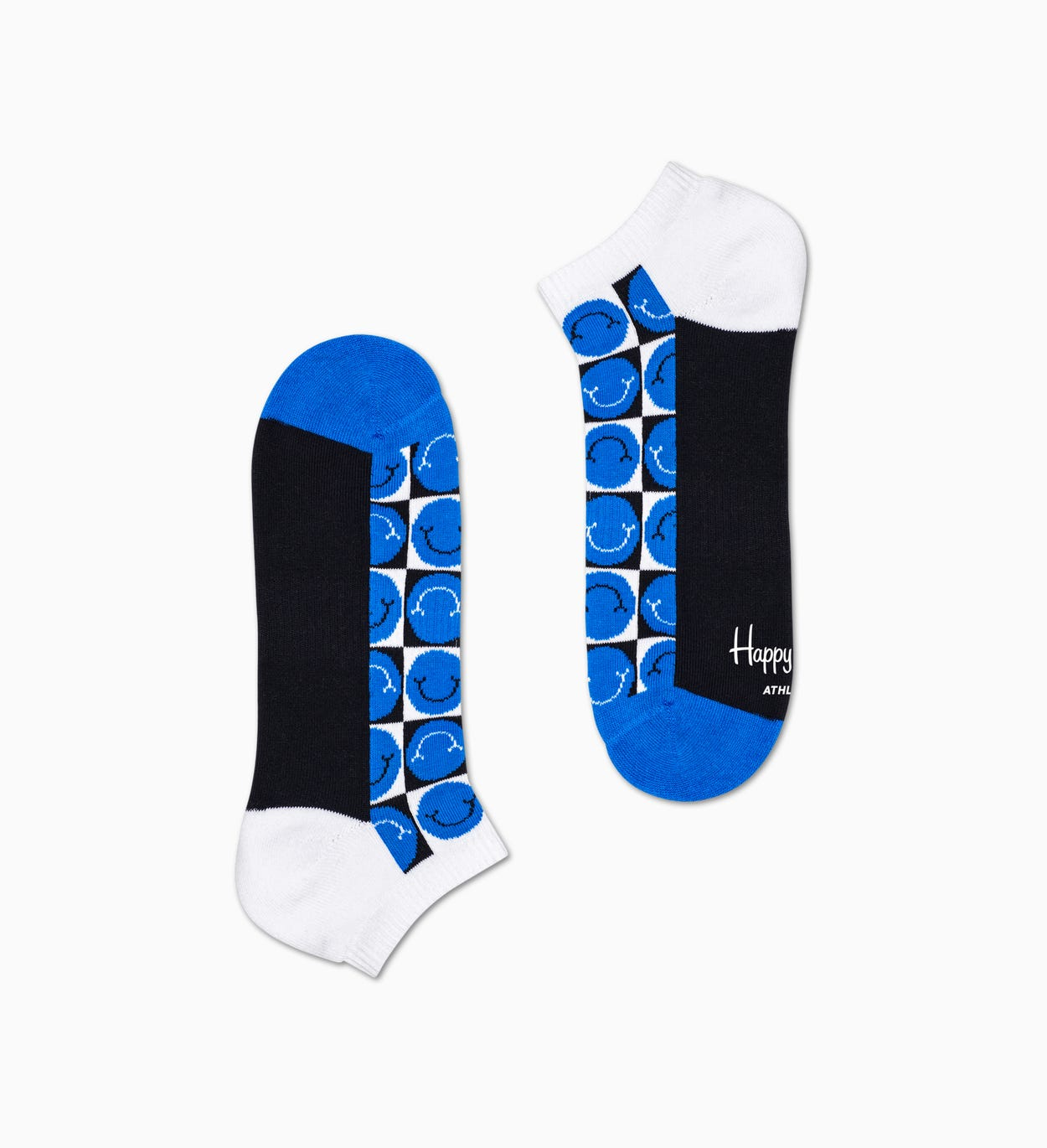 Athletic Happy Pique Cuff Low Sock