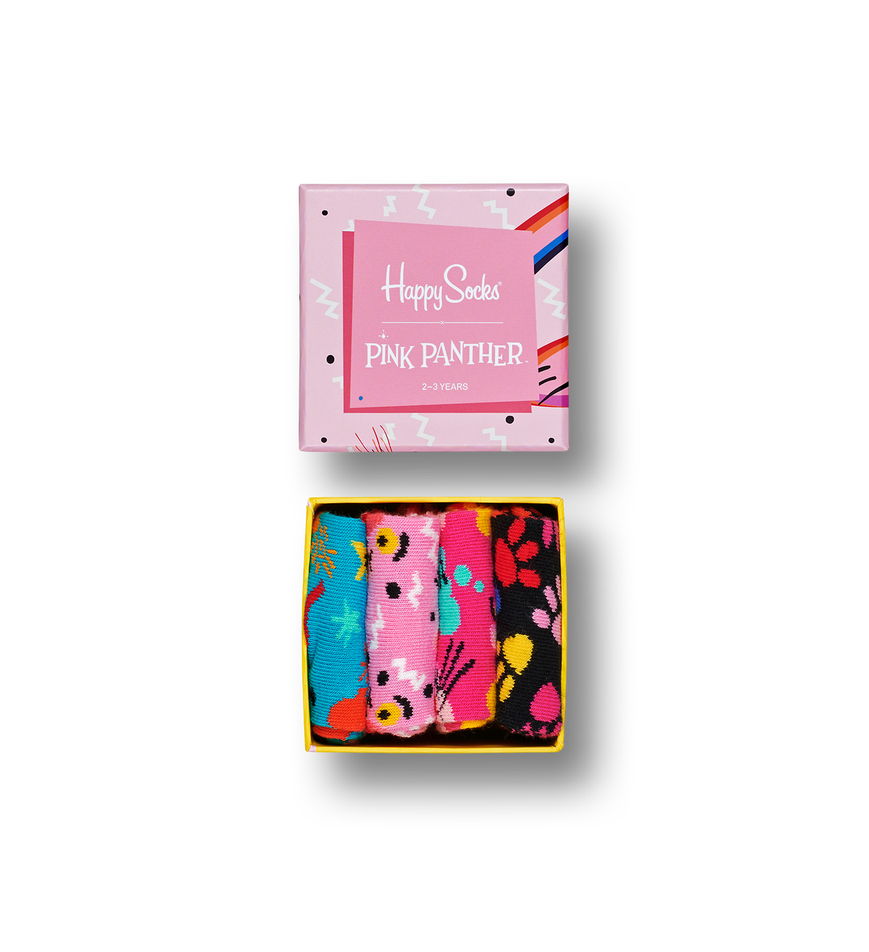 Kids Pink Panther Sock Box Set