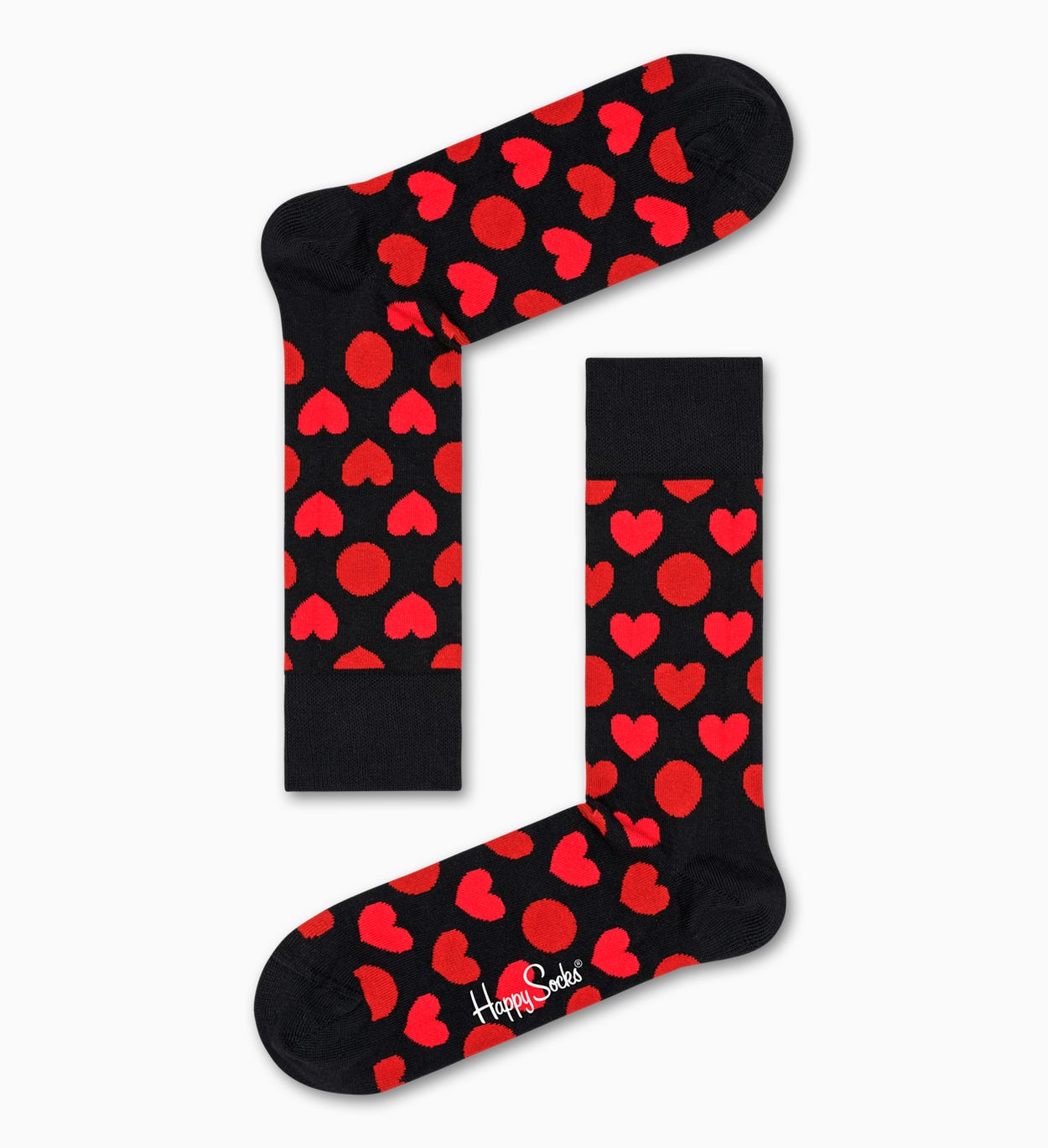 Heart Dot Sock