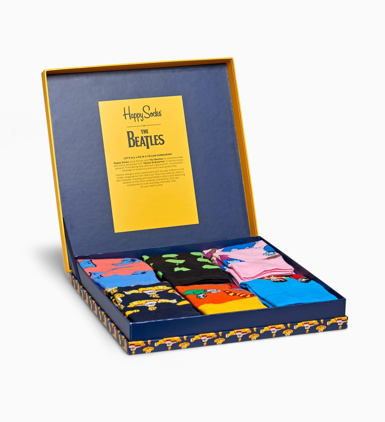The Beatles Socken LP Collectors Box Set | Happy Socks