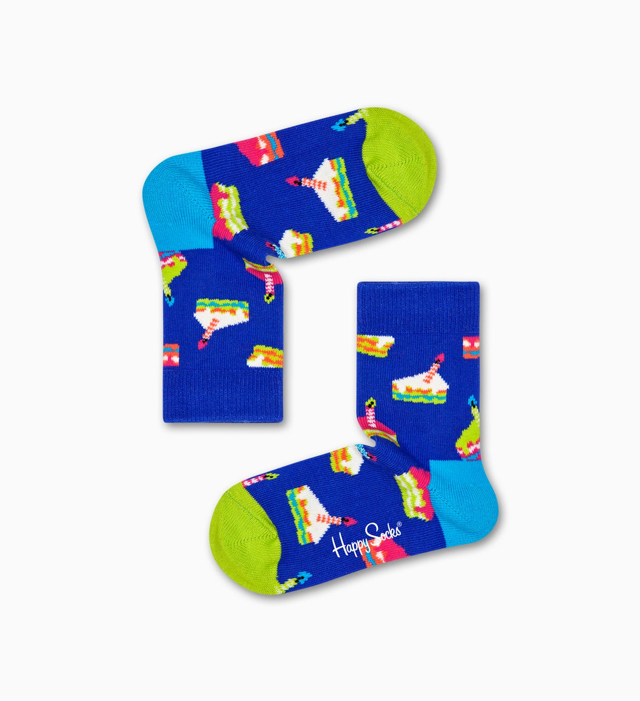 Kids Happy Birthday Gift Box, Blue | Happy Socks