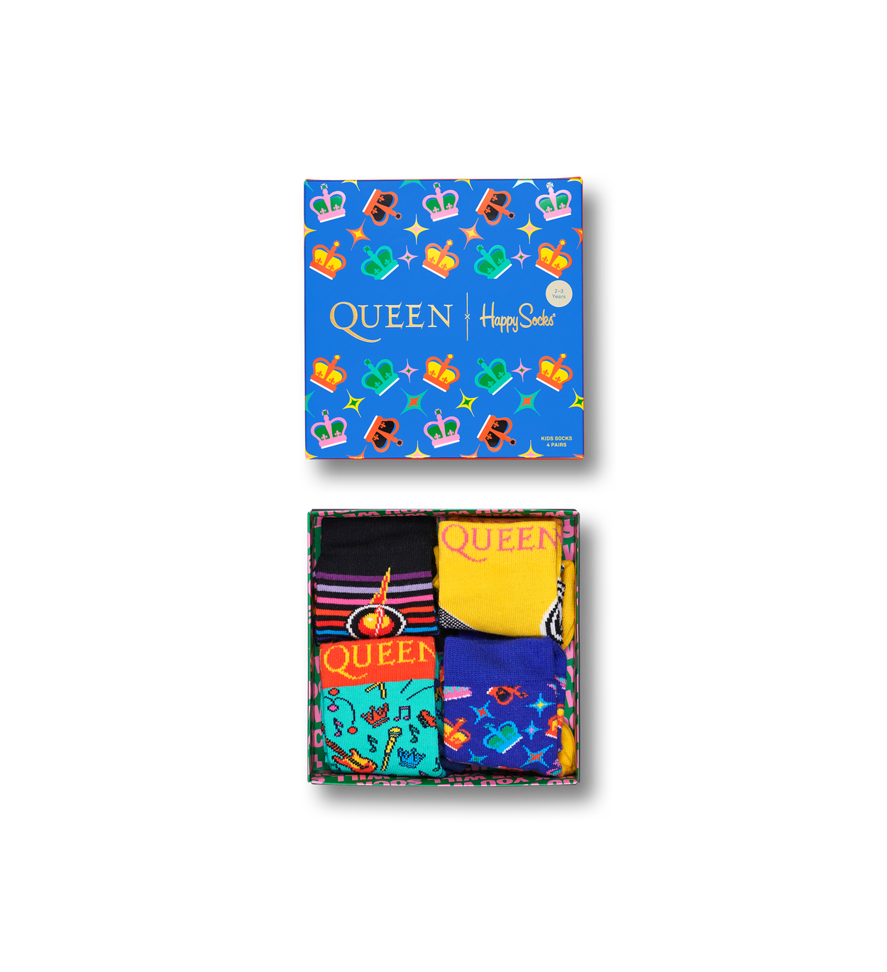Kids Queen 4-Pack Gift box