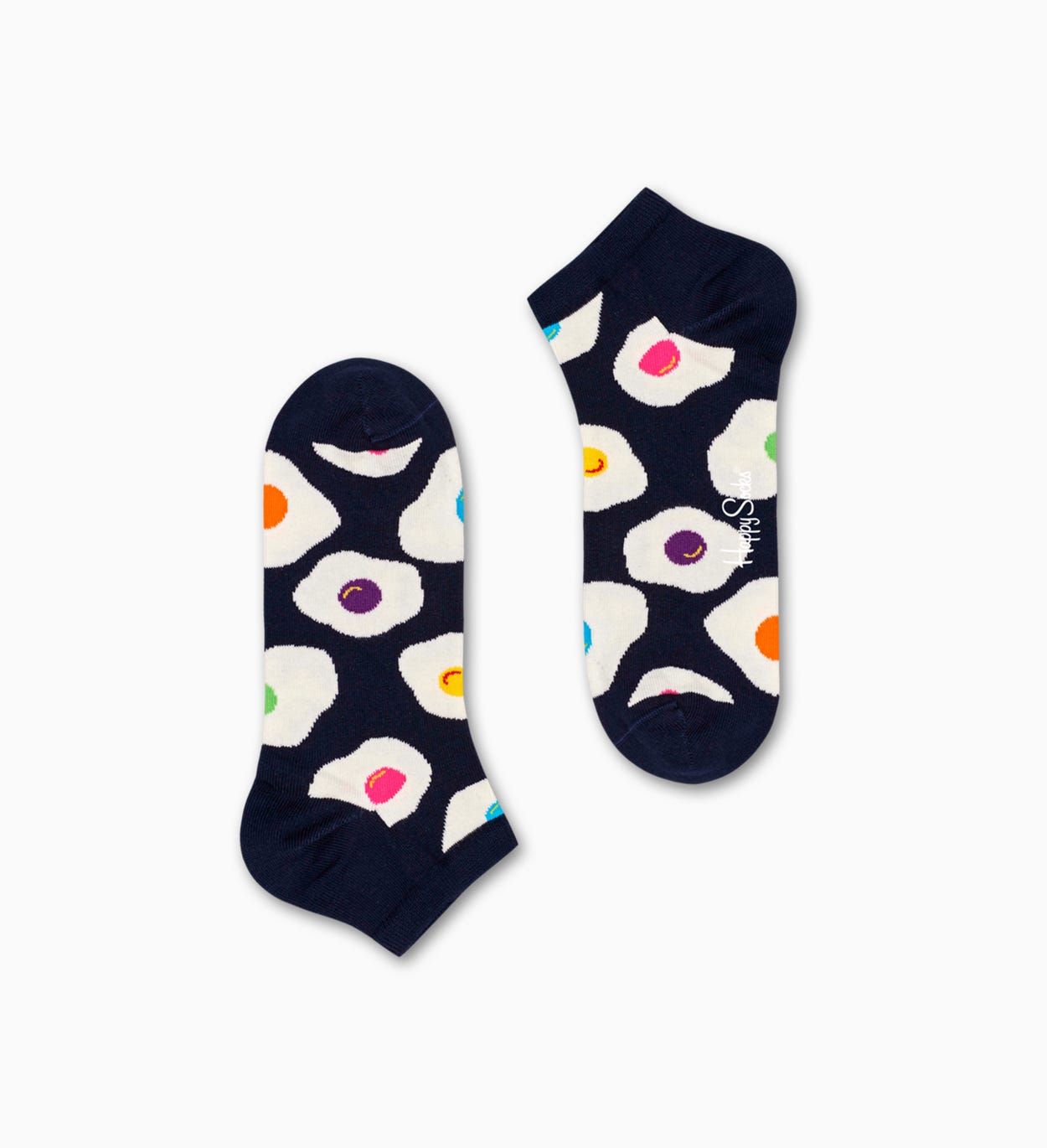 Marineblaue Low Socken: Sunny Side Up | Happy Socks
