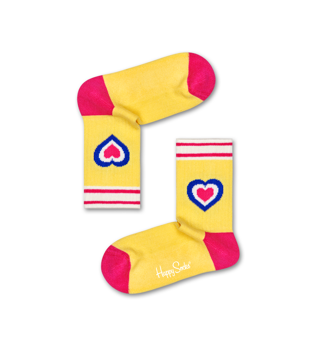 Kids Heart Rib Sock
