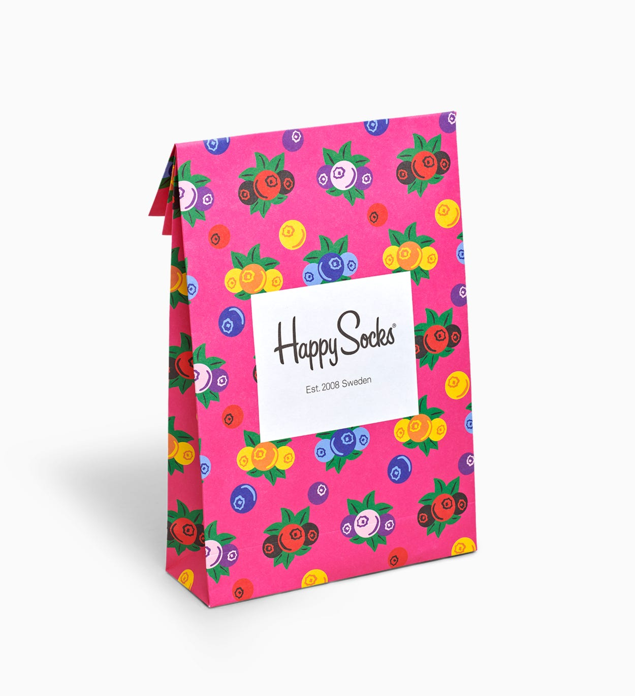 Gift bag for Gift wrapping: Berry | Happy Socks