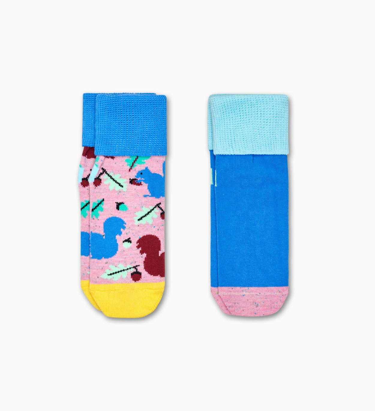 2-Pack Squirrel Anti-Slip Socks