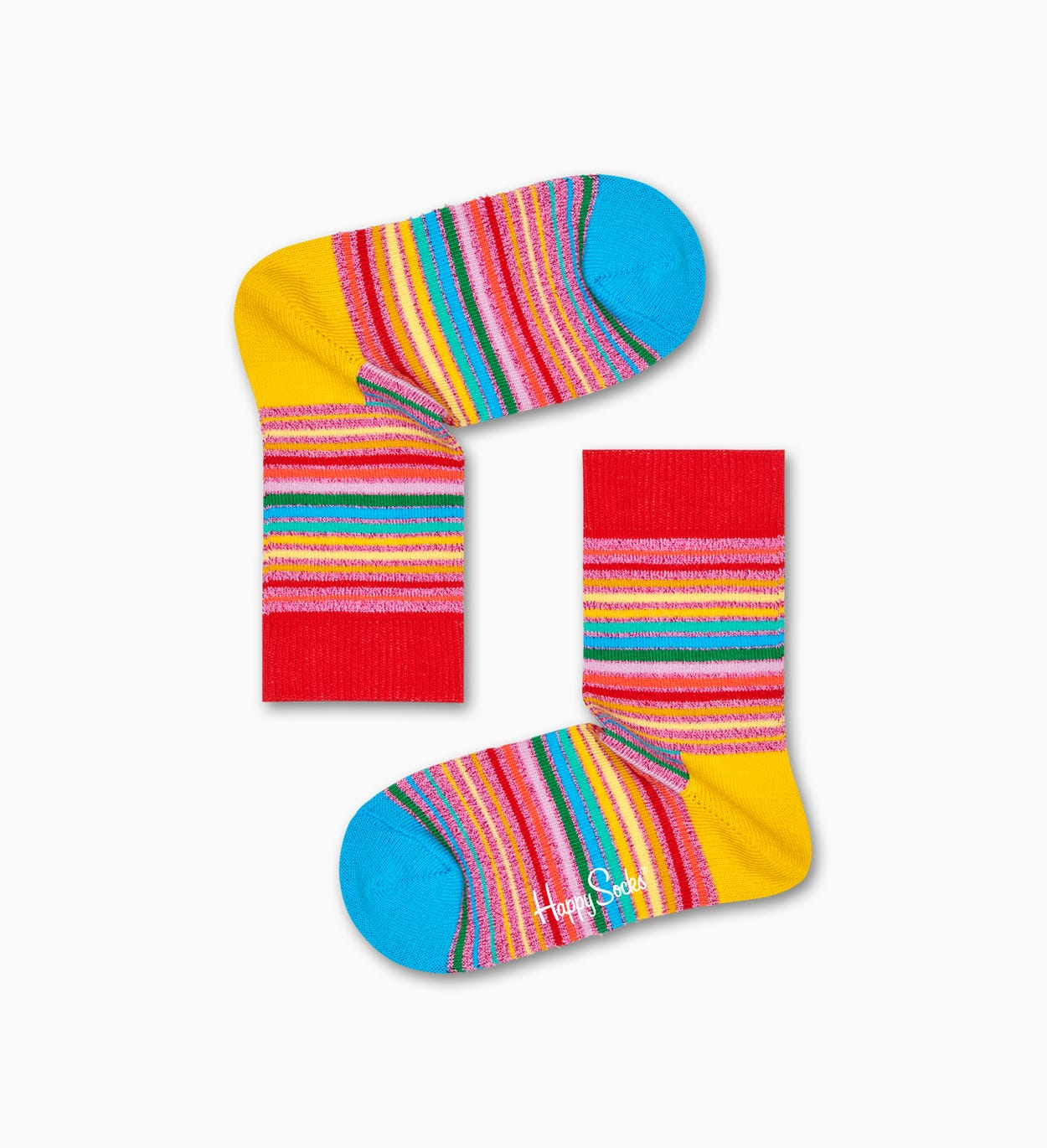 Pride Sunrise Socks, Red - Kids | Happy Socks
