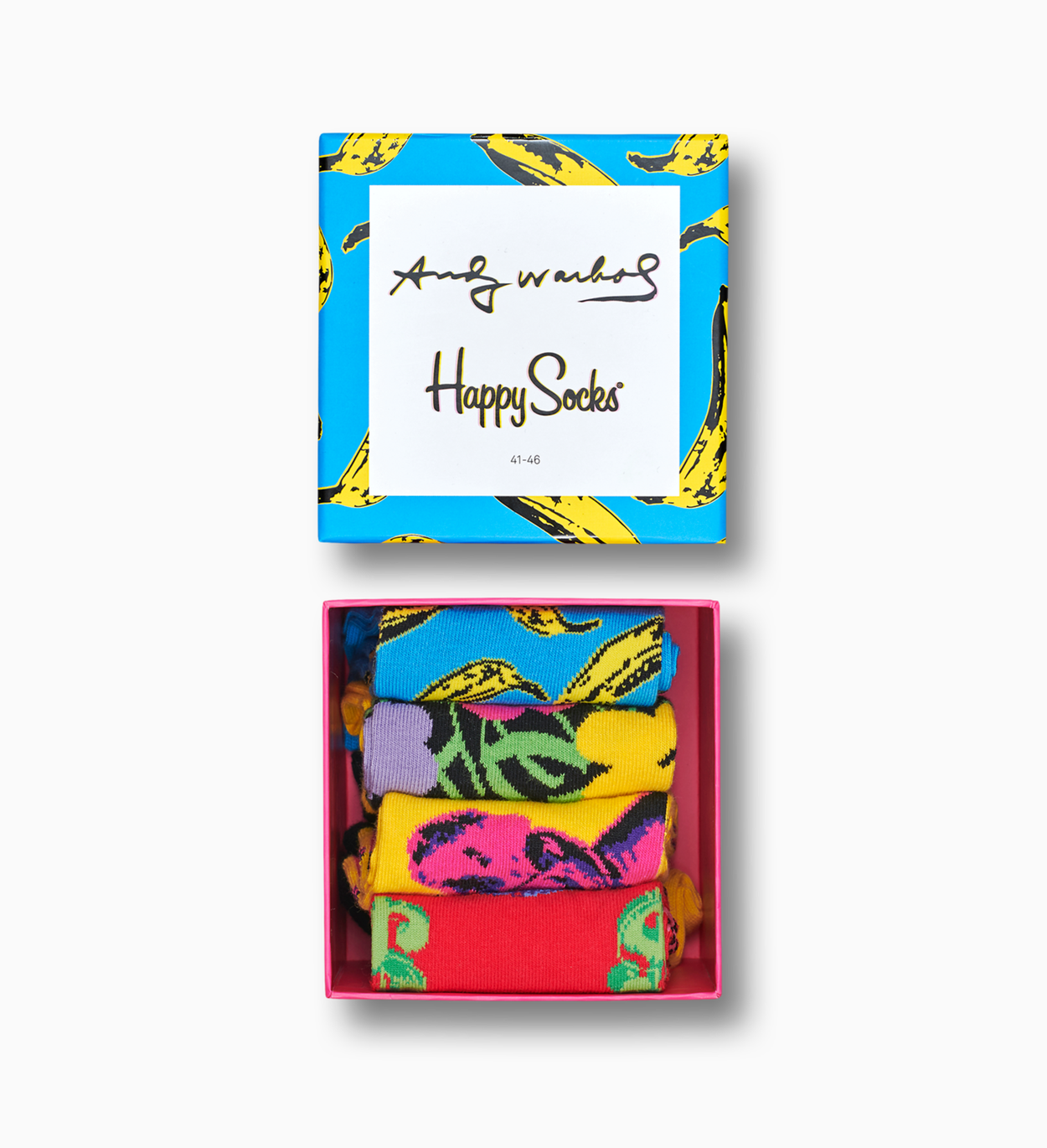 Exclusive Happy Socks x Andy Warhol Socks Box Set