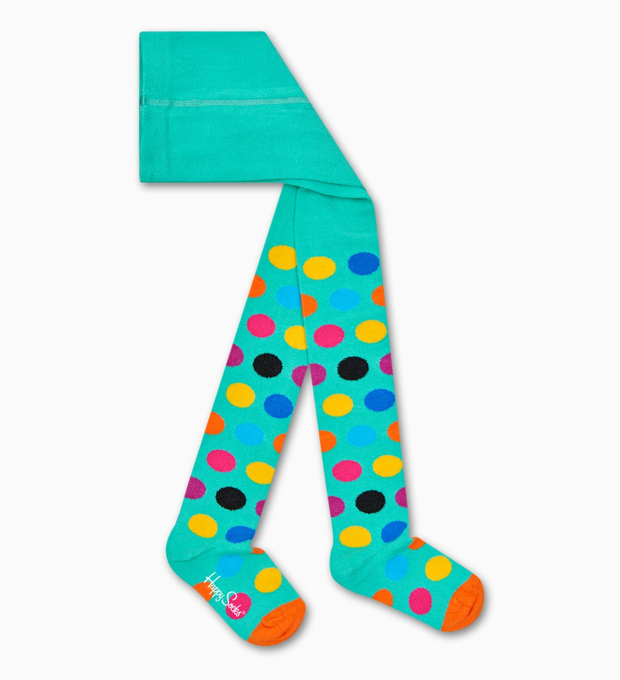 Turquoise kids & baby socks: Big Dot | Happy Socks