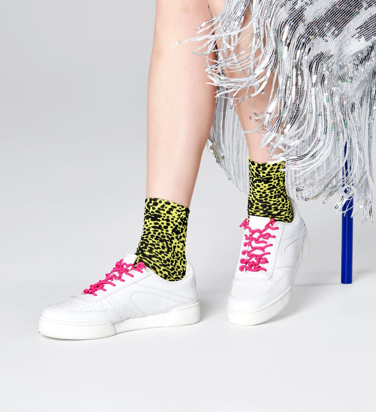Charlie Ankle Socks, Yellow - Hysteria | Happy Socks