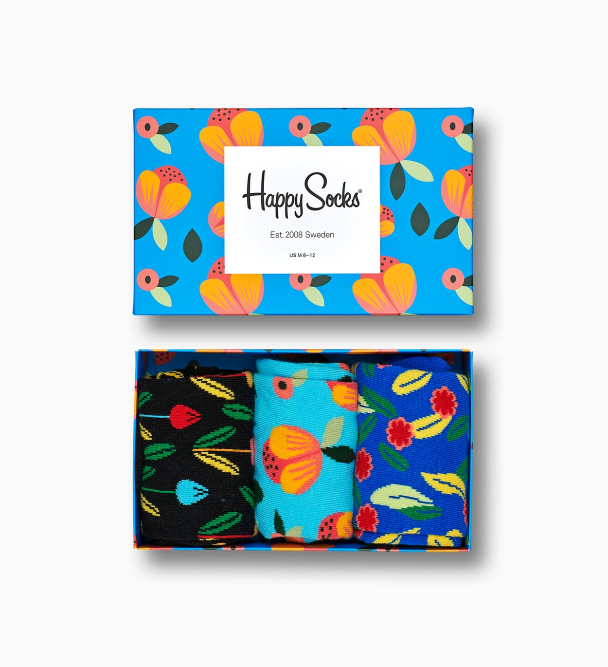 Web exclusive: Flower Socks Gift Box | Happy Socks