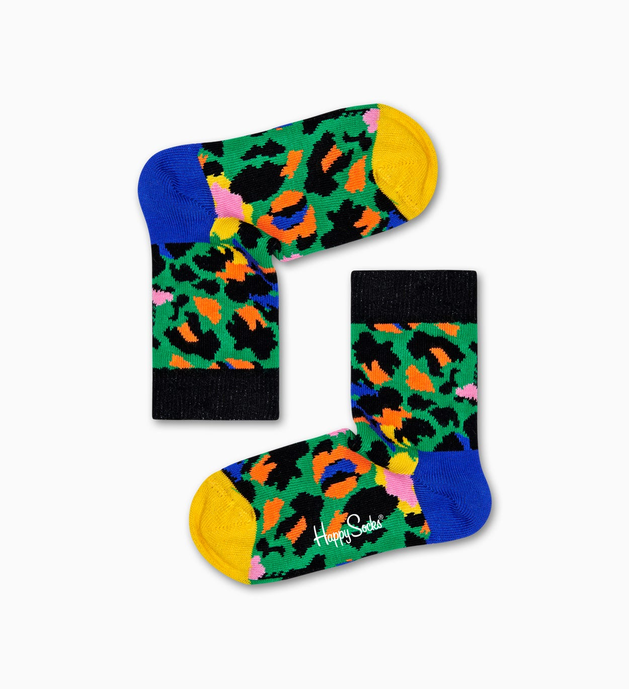 Leoparden Socken, Grün - Kinder | Happy Socks