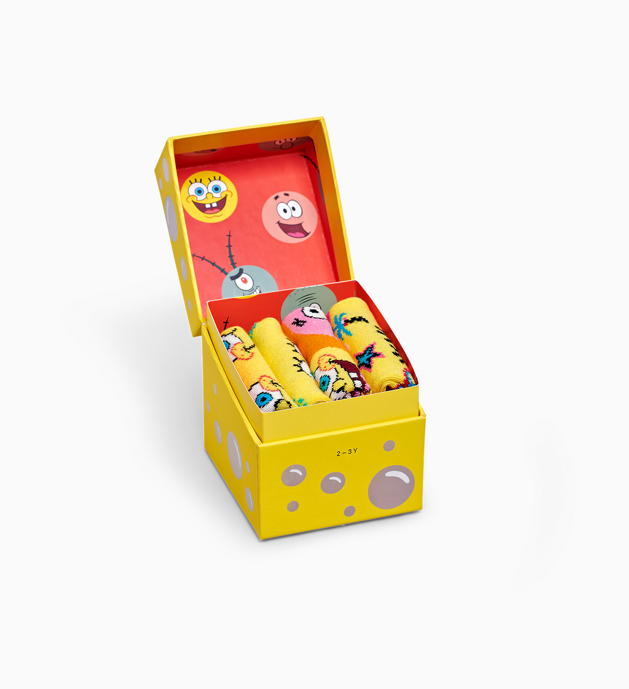 Kids SpongeBob 4-pack gift box