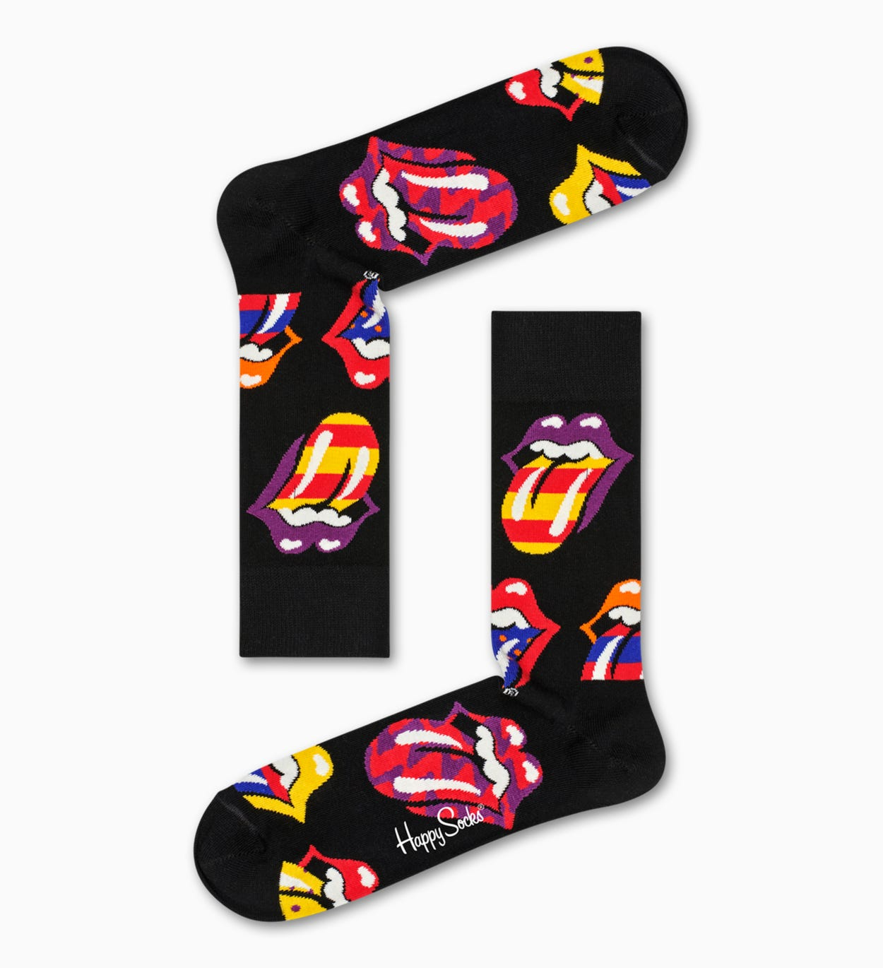 Happy Socks x Rolling Stones Out Of Control Sock