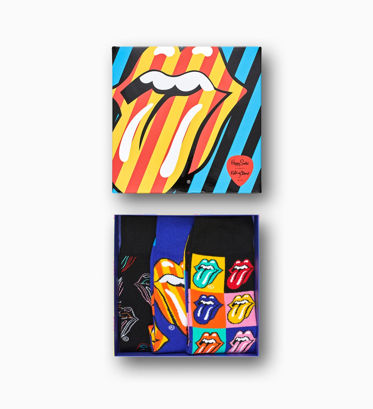 Happy Socks x The Rolling Stones Socks Gift Box 3pc