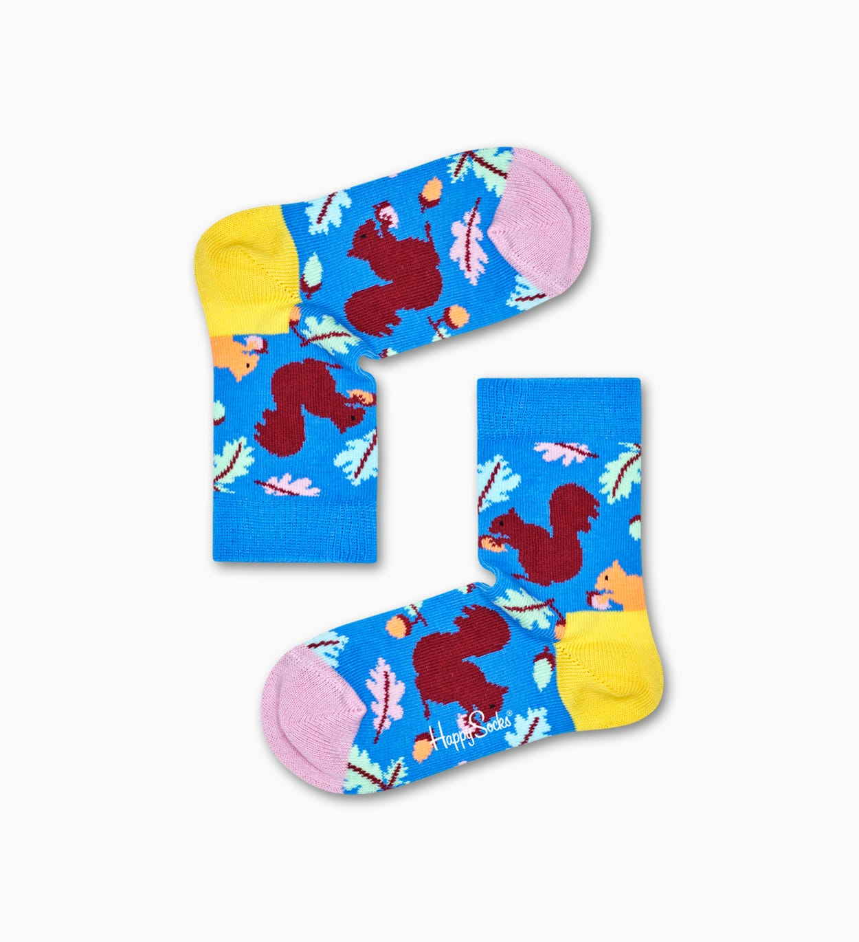 Kids   Baby Socks: Squirrel, Blue | Happy Socks