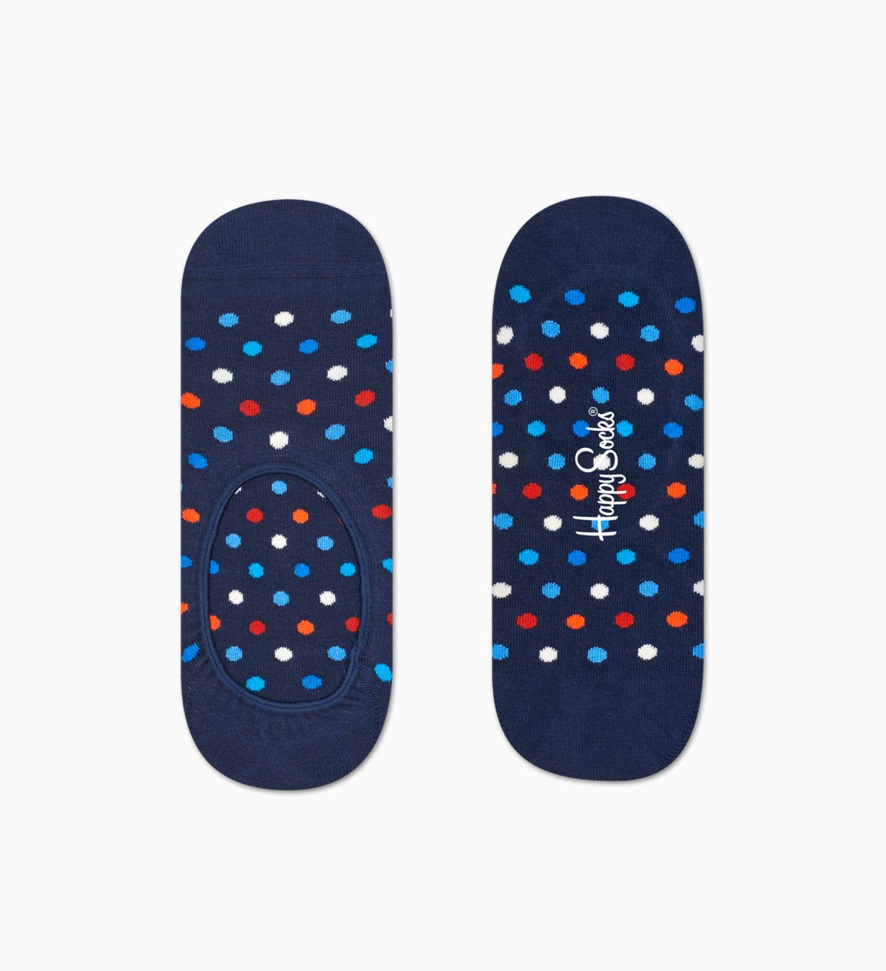 Blue Combed Cotton Socks | Happy Socks